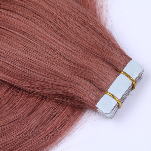 Wholesale Double Drawn Seamless Tape Human Hair Extensions  manufacturer JF049